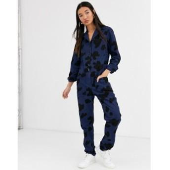 レイチェル アントノフ Rachel Antonoff レディース オールインワン ツナギ ワンピース・ドレス stephen cow print boiler suit