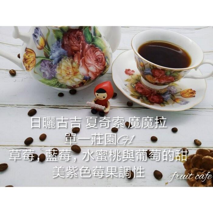 甜美紫色莓果調性日曬古吉 夏奇索 魔魔拉單一莊園g1~一磅裝~ 讓您喝到最新鮮的咖啡