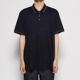 リネーム Rename 2ラインポロシャツ (ネイビー)