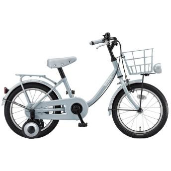16型 子供用自転車 ビッケ m(E.YBKブルーグレー/シングルシフト)BKM16【2020年モデル】