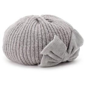 Couture Brooch / クチュールブローチ cache cache(カシュカシュ)リボン付きニットベレー帽