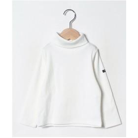 b-ROOM タートルネック長袖Tシャツ(オフホワイト)【返品不可商品】