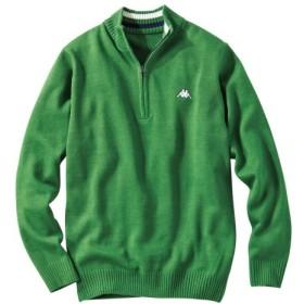 Kappa(カッパ)ハーフジップセーター (ニット・セーター)Sweater, 毛衣