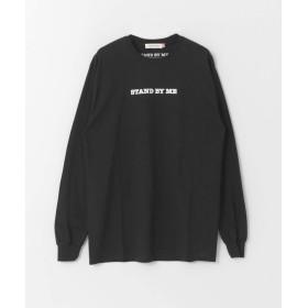 [アーバンリサーチ] tシャツ STAND BY ME LONG-SLEEVE T-SHIRTS レディース BLACK FREE