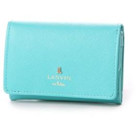 ランバン オン ブルー LANVIN en Bleu リュクサンブールカラー 3つ折り財布 (エメラルド)