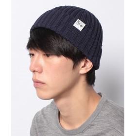 【20%OFF】 ナノ・ユニバース Standard knit cap メンズ ネイビー F 【nano・universe】 【セール開催中】