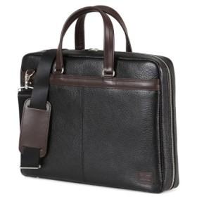 (Bag & Luggage SELECTION/カバンのセレクション)吉田カバン ポーター ブレンド ビジネスバッグ メンズ ブランド 薄マチ 本革 2WAY A4 PORTER 192-03748/ユニセックス ブラック