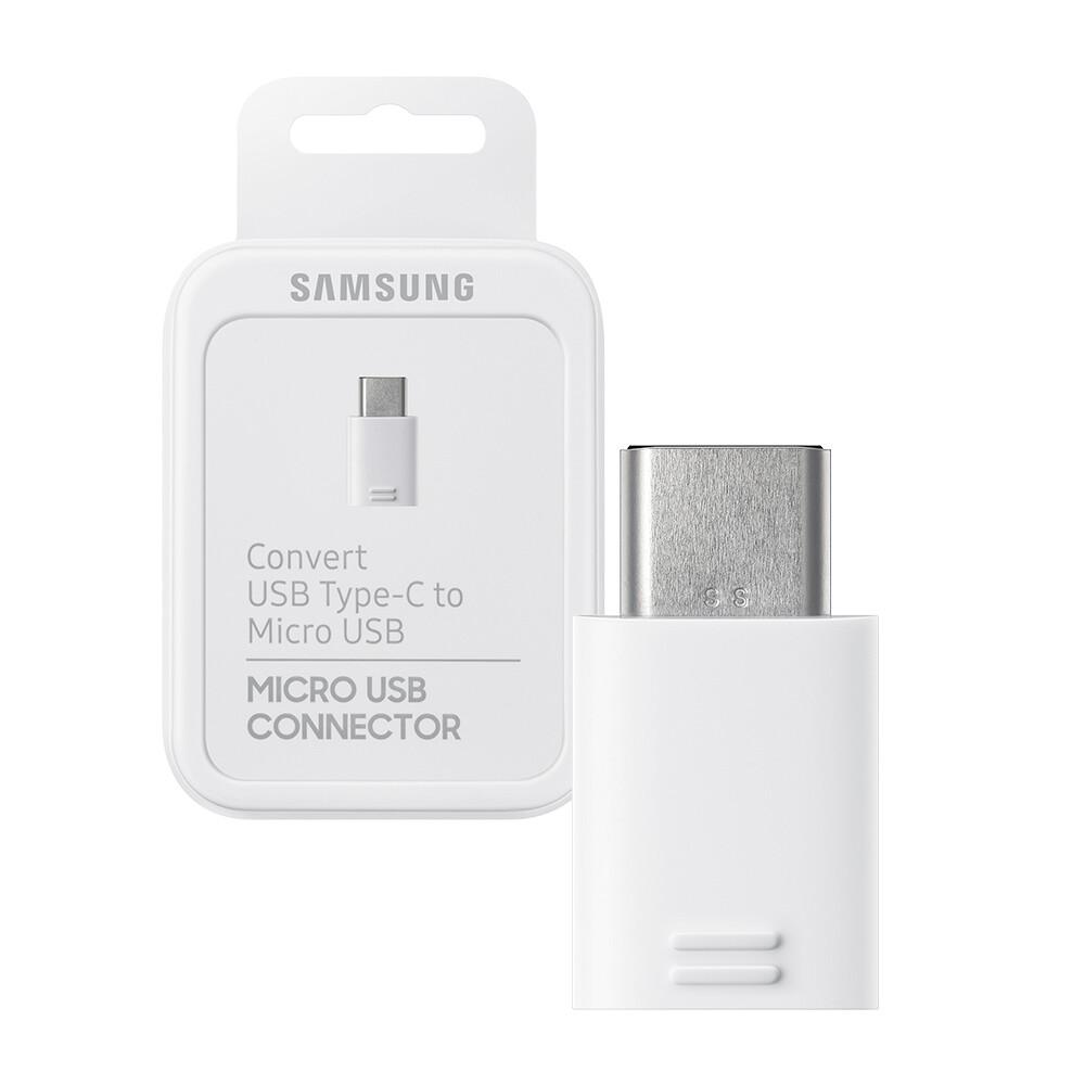 samsung 三星 原廠micro usb to type c 轉接器 白色 (公司貨-盒裝)