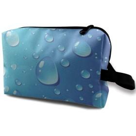 水滴芸術 化粧品袋 トラベルコスメティックバッグ 防水 大容量 荷物タグ付き 旅行収納ポーチ アレンジケース パッキングオーガナイザー 出張 旅行 衣類収納袋 スーツケース整理 インナーバッグ メッシュポーチ 収納ポーチ
