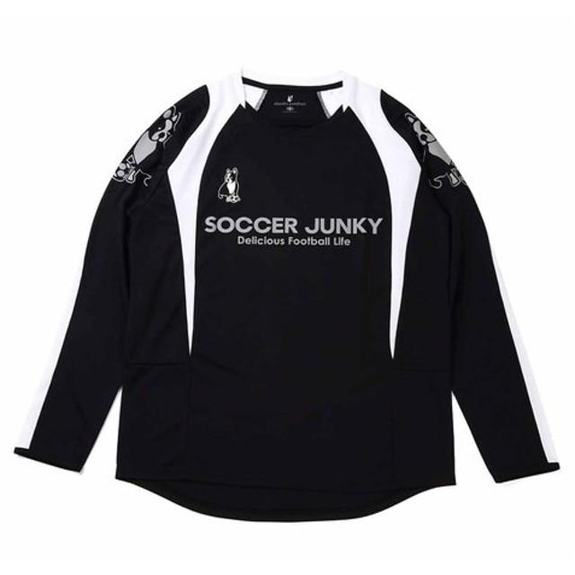 サッカージャンキー SoccerJunky My preacious ones 1ロングプラクティスシャツ サッカー トレーニング プラシャツ