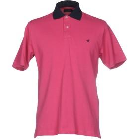 《期間限定セール開催中!》BROOKSFIELD メンズ ポロシャツ フューシャ 50 100% コットン
