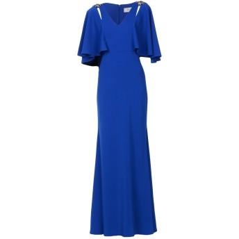 《セール開催中》BADGLEY MISCHKA レディース ロングワンピース&ドレス ブライトブルー 0 ポリエステル 98% / ポリウレタン 2%