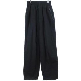 Y-3(ワイスリー)18AW louched track trousers TWILLワイドパンツトラックジャージ ブラック DP0490