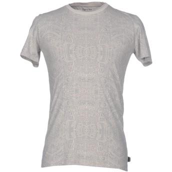 《セール開催中》CARE LABEL メンズ T シャツ グレー S コットン 100%