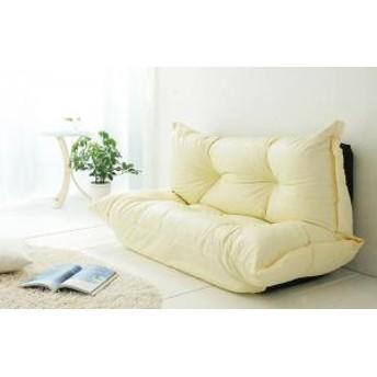 2P 2人 国産 肉厚 BAUM ロー sofa 5段階 幅140 カウチ 日本製 座いす ソファ 座椅子 バウム 2人掛け 合成皮革 リビング ソファー