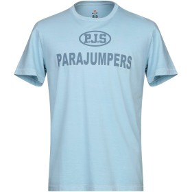 《期間限定セール開催中!》PARAJUMPERS メンズ T シャツ スカイブルー XS コットン 100%