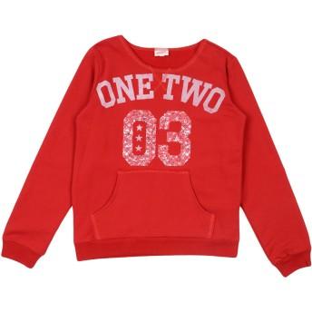 《セール開催中》DIMENSIONE DANZA SISTERS ガールズ 9-16 歳 スウェットシャツ レッド 10 コットン 99% / ポリウレタン 1%