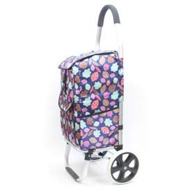 ショッピングカート 買い物キャリー サブバッグ 折り畳み式 二輪 大きな車輪 耐荷重 持ちやすい かっこいい 便利グッズ 男女兼用 旅行 ホワイトデー 母の日 レジャー シルバーバッグ エコバッグ