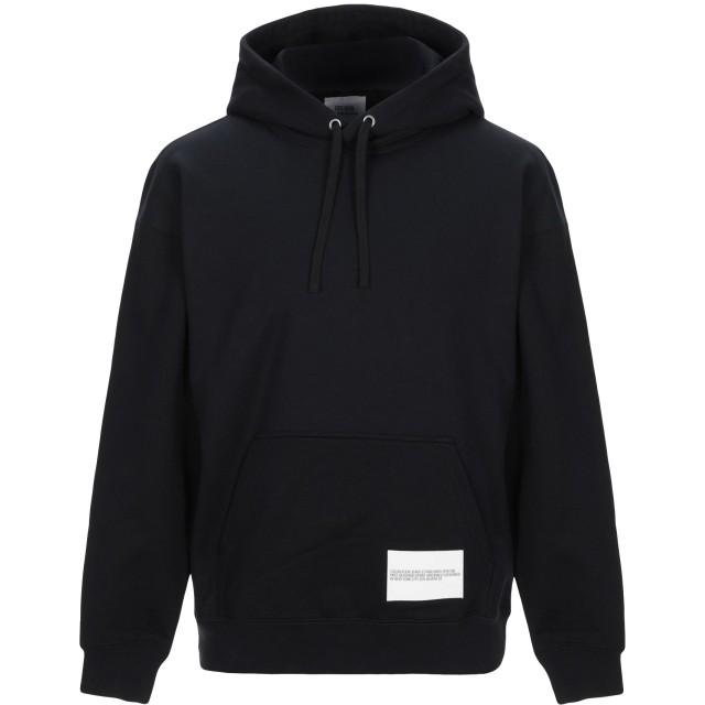 《セール開催中》CALVIN KLEIN JEANS メンズ スウェットシャツ ブラック XS コットン 80% / ポリエステル 20%