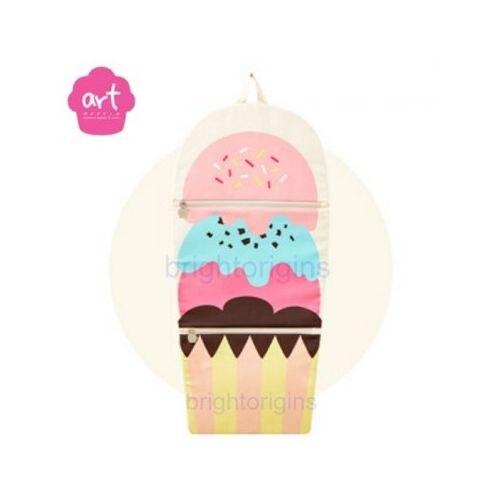 Baby muffin ART Muffin Kids Multi Storage 掛壁式收納袋(冰淇淋)★愛兒麗婦幼用品★