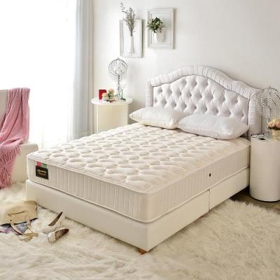 單人3.5尺 飯店用透氣抗菌+側邊強化-麵包床護腰型-硬式獨立筒床墊-Ally愛麗