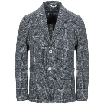 《セール開催中》CIRCOLO 1901 メンズ テーラードジャケット ブルーグレー 48 コットン 96% / ポリウレタン 4%