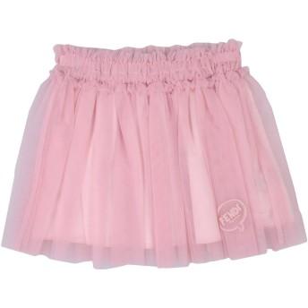 《セール開催中》FENDI ガールズ 3-8 歳 スカート ピンク 6 ナイロン 100%