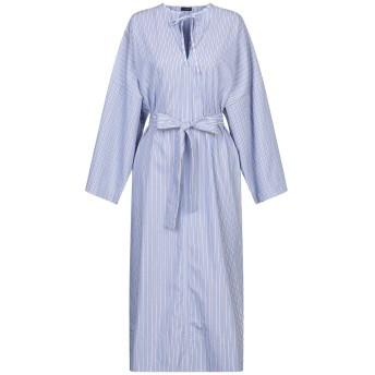 《セール開催中》JOSEPH レディース 7分丈ワンピース・ドレス アジュールブルー 40 コットン 100%