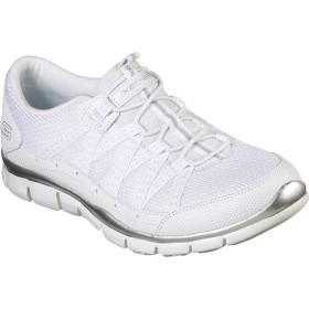 [スケッチャーズ] シューズ スニーカー Gratis Strolling Sneaker White/Silv レディース [並行輸入品]