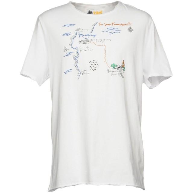 《セール開催中》KAOS メンズ T シャツ ホワイト S コットン 100%