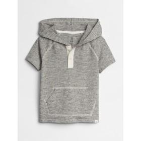 Gap フード付きヘンリー半袖Tシャツ (幼児)