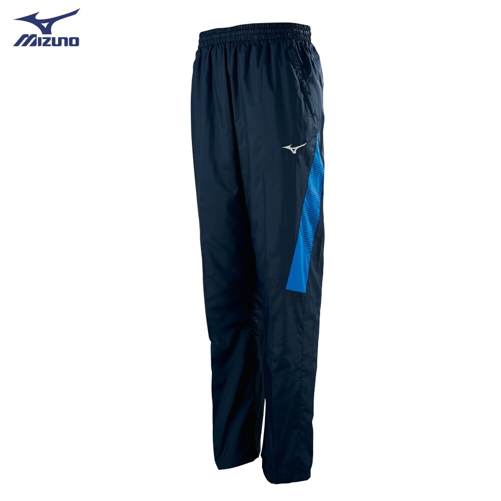 美津濃 MIZUNO BREATH THERMO 保暖風衣長褲 32TF958814(深丈青)