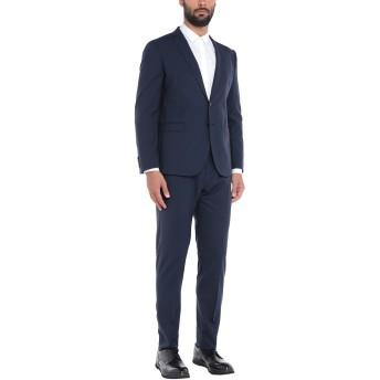 《セール開催中》TONELLO メンズ スーツ ダークブルー 54 バージンウール 97% / ポリウレタン 3%