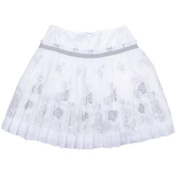 《セール開催中》MONNALISA CHIC ガールズ 9-16 歳 スカート ホワイト 15 100% ポリエステル
