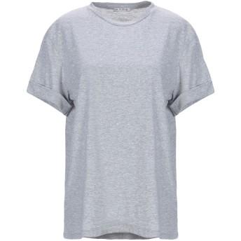 《セール開催中》HOPE COLLECTION レディース T シャツ ライトグレー L コットン 100% / ポリエステル
