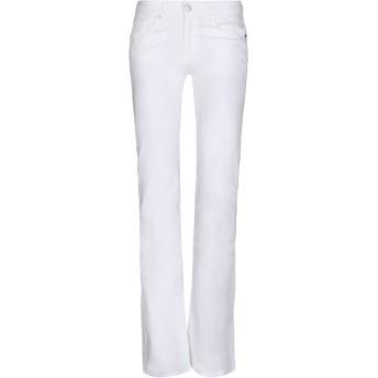 《セール開催中》LIU JO レディース パンツ ホワイト 30 コットン 98% / ポリウレタン 2%