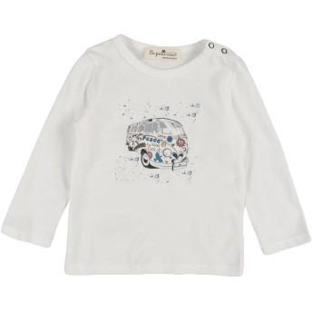 《セール開催中》LE PETIT COCO ガールズ 0-24 ヶ月 T シャツ ホワイト 9 コットン 100%
