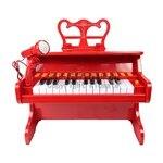 【淘氣寶寶】孩子王 KIDMAIE 琴之聲古典鋼琴(紅)