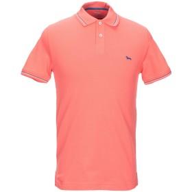 《セール開催中》HARMONT & BLAINE メンズ ポロシャツ コーラル S コットン 95% / ポリウレタン 5%