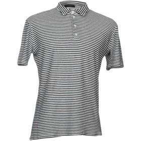 《期間限定セール開催中!》ARAGONA メンズ ポロシャツ ブルー 50 麻 55% / コットン 45%