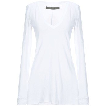 《セール開催中》ENZA COSTA レディース T シャツ ホワイト XS ピマコットン 100%