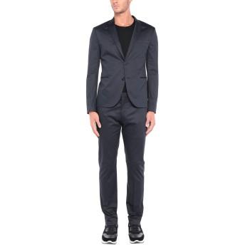 《セール開催中》NEIL BARRETT メンズ スーツ ダークブルー 48 コットン 96% / ポリウレタン 4%
