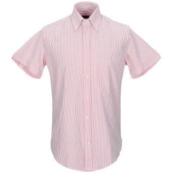 《セール開催中》KEN BARRELL メンズ シャツ レッド M コットン 100%