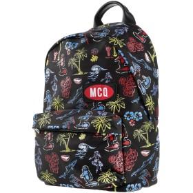 《期間限定セール開催中!》McQ Alexander McQueen メンズ バックパック&ヒップバッグ ブラック 革 / 紡績繊維