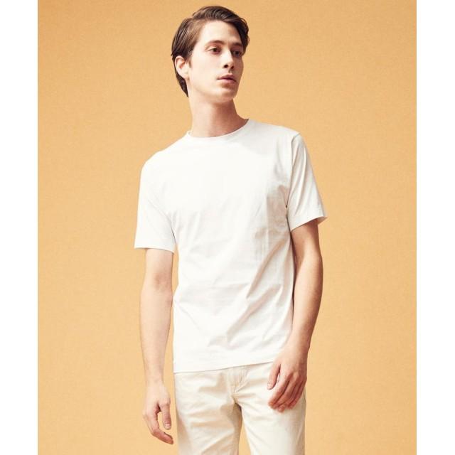 トゥモローランド スヴィンジャージー クルーネックTシャツ メンズ 11ホワイト L 【TOMORROWLAND】