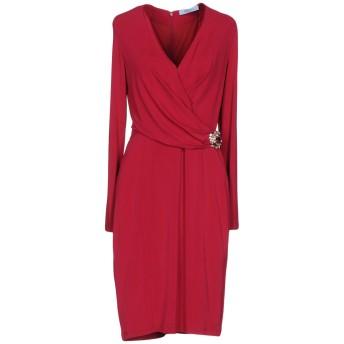 《セール開催中》BLUMARINE レディース ミニワンピース&ドレス フューシャ 40 94% レーヨン 6% ポリウレタン