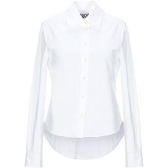 《セール開催中》MOSCHINO レディース シャツ ホワイト 40 コットン 96% / 指定外繊維 4%