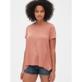 Gap ミックスファブリック サイドパネルTシャツ