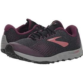 [ブルックス] レディーススニーカー・靴・シューズ PureGrit 7 Black/Purple/Grey (28cm) B - Medium [並行輸入品]