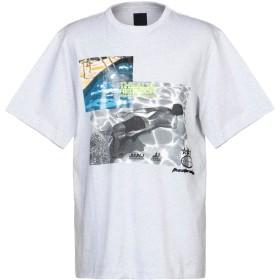 《セール開催中》JUUN.J メンズ T シャツ グレー 44 コットン 100%